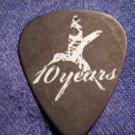 10 YEARS GUITAR PICK Lewis Cosby big lew ten black