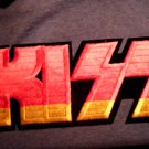 KISS iron-on PATCH multicolor logo VINTAGE JUMBO