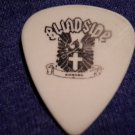 BLINDSIDE GUITAR PICK Tomas Naslund crest logo white