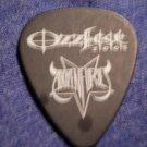 A DOZEN FURIES GUITAR PICK Ozzfest 2005 black SALE