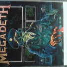 MEGADETH STICKER Holy Wars The Punishment Due VINTAGE
