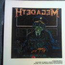 MEGADETH DECAL not STICKER Holy Wars The Punishment Due VINTAGE