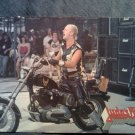JUDAS PRIEST POSTCARD rob halford motorcycle post card VINTAGE