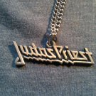 JUDAS PRIEST METAL NECKLACE classic logo VINTAGE