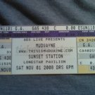 MUDVAYNE TICKET Tour 2008 unused SALE