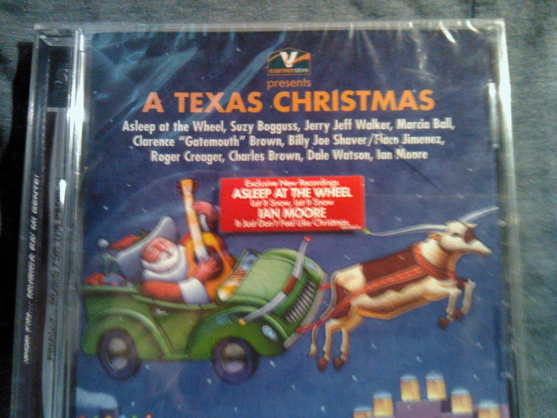 CD V/A Holiday ian moore jerry jeff walker marcia ball asleep at the wheel texas SEALED