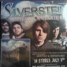 CD SILVERSTEIN/BAYSIDE +7 poster PROMO