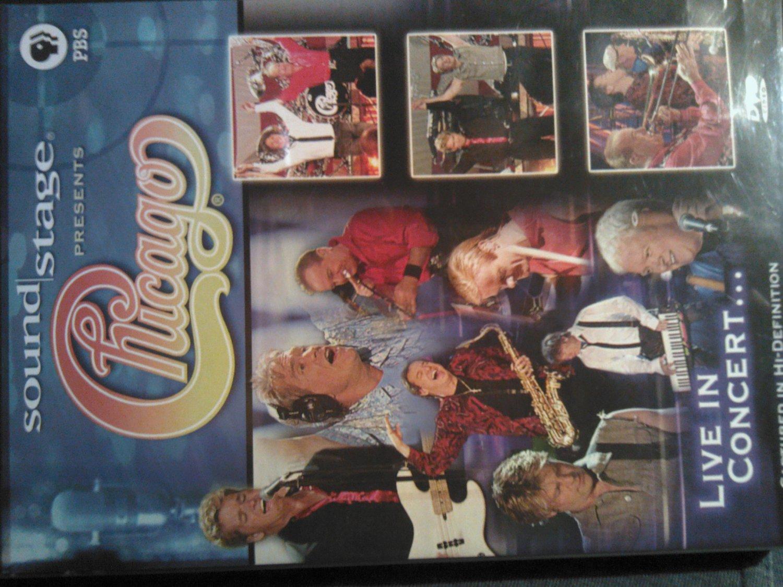 DVD CHICAGO Live In Concert soundstage pbs bonus