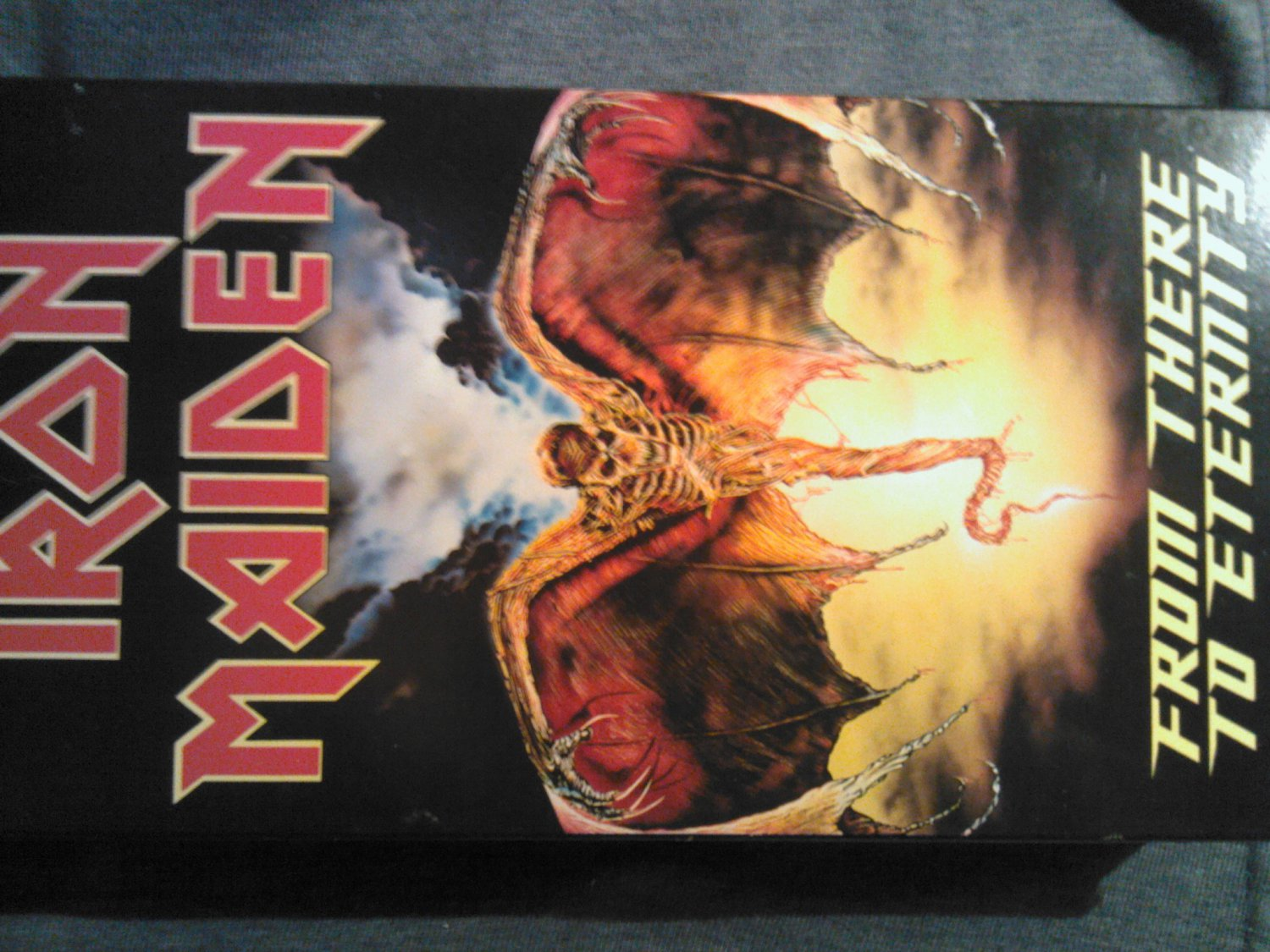 VHS IRON MAIDEN From There To Eternity videos 1992