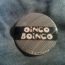 OINGO BOINGO PINBACK BUTTON logo danny elfman VINTAGE 80's