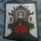 KING DIAMOND sew-on PATCH mercyful fate RARE VINTAGE