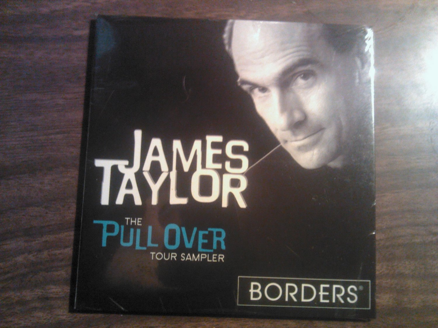 CD JAMES TAYLOR Pull Over Tour Sampler SEALED PROMO