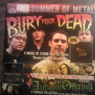 CD V/A bury your dead to fall autumn offering nights like these metal PROMO SALE