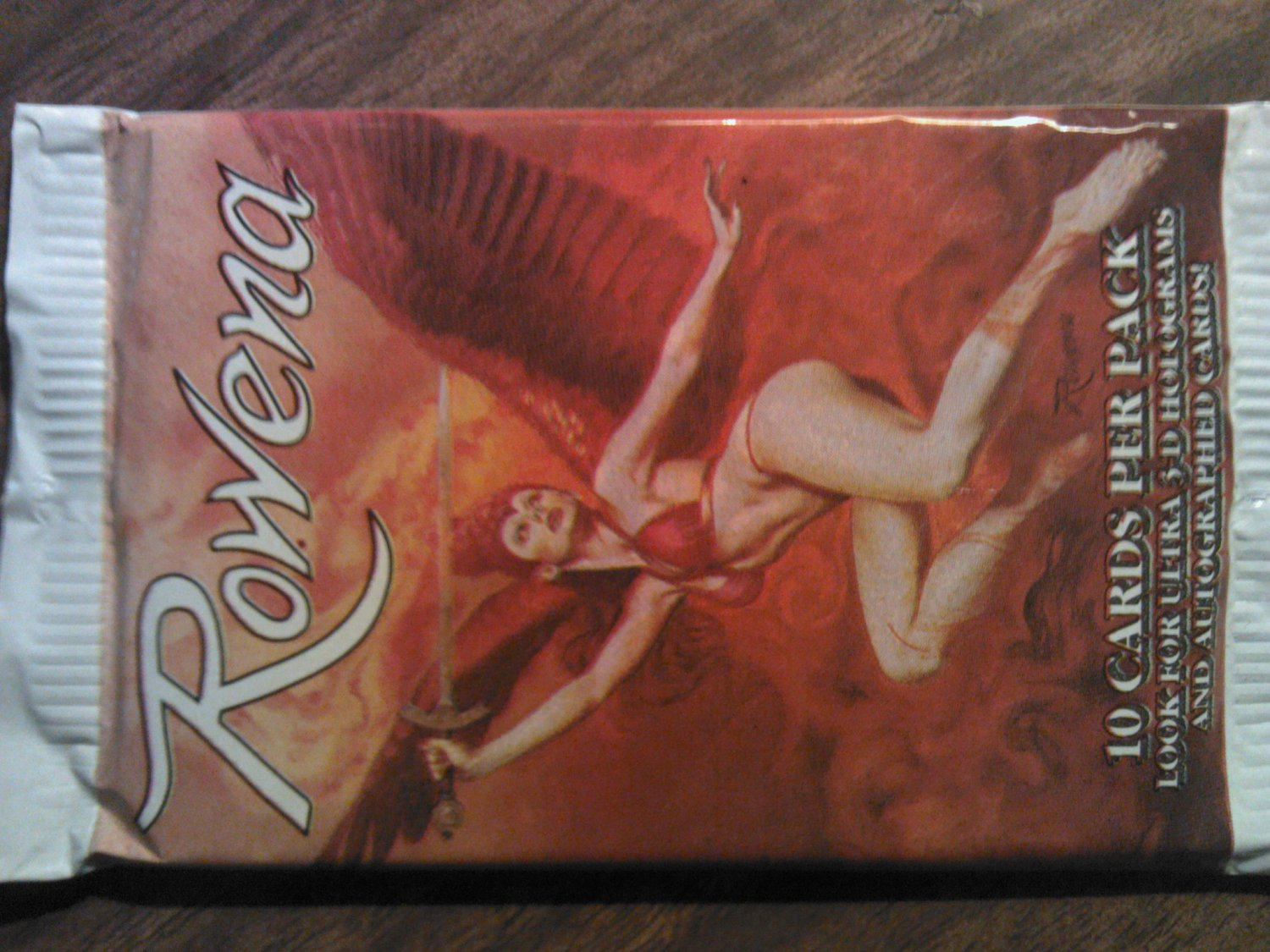 ROWENA TRADING CARDS fantasy art dragons women autographed SEALED PACK