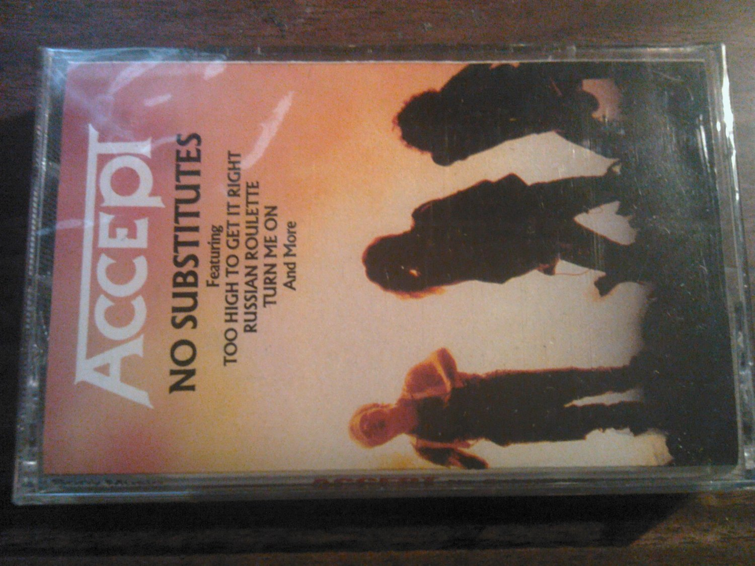 ACCEPT cassette tape No Substitutes hits udo SEALED