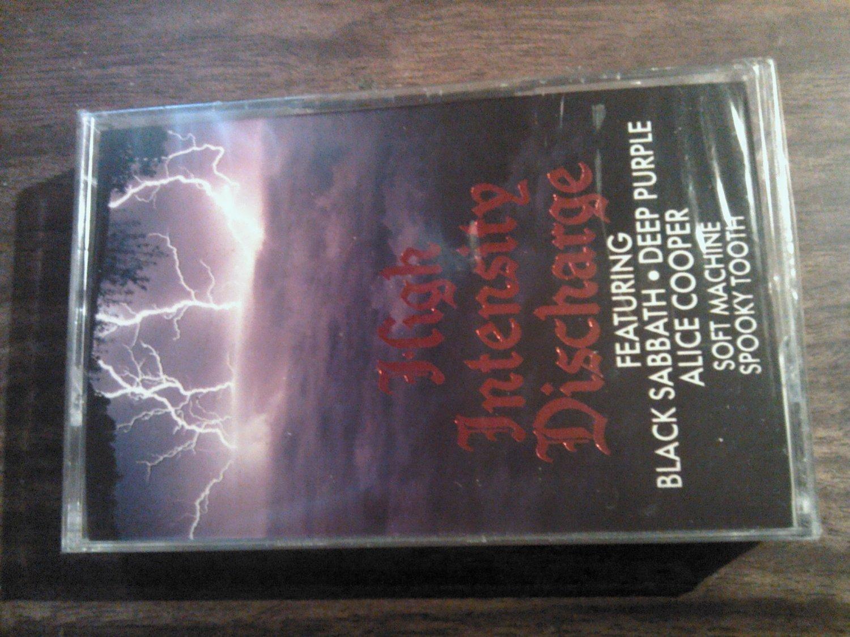 V/A cassette tape spooky tooth black sabbath soft machine alice cooper SEALED