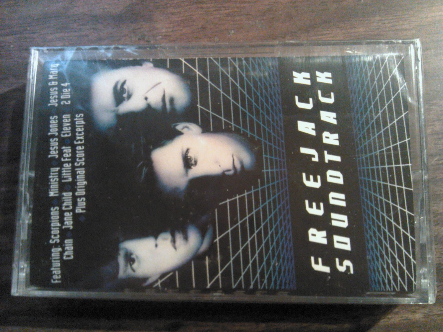 V/A cassette tape Scorpions Ministry Jesus and Mary Chain Jones Little Feat freejack SEALED SALE
