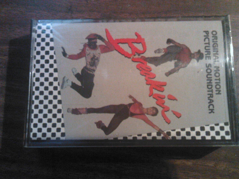 BREAKIN cassette tape movie soundtrack bar-kays ice t re-flex rufus chaka khan rap SEALED