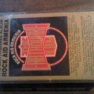 ROCK AID ARMENIA cassette tape Earthquake Album deep purple iron maiden rush asia yes elp SEALED