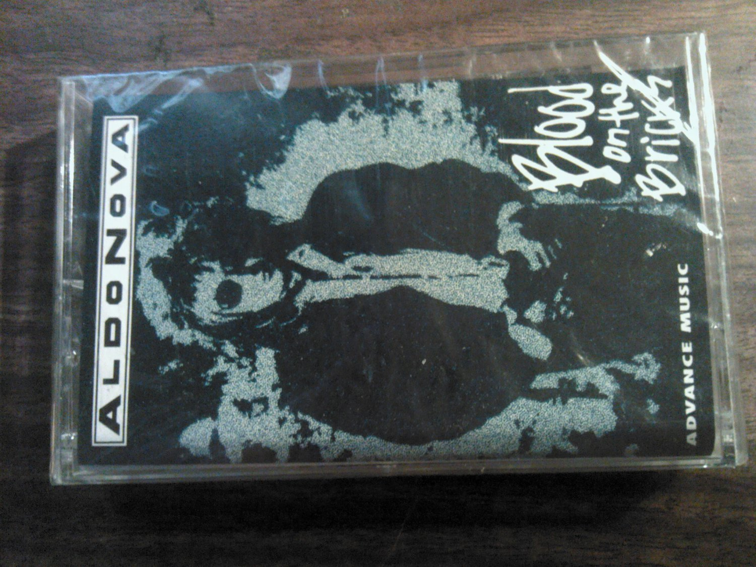 ALDO NOVA cassette tape Blood on the Bricks SEALED PROMO