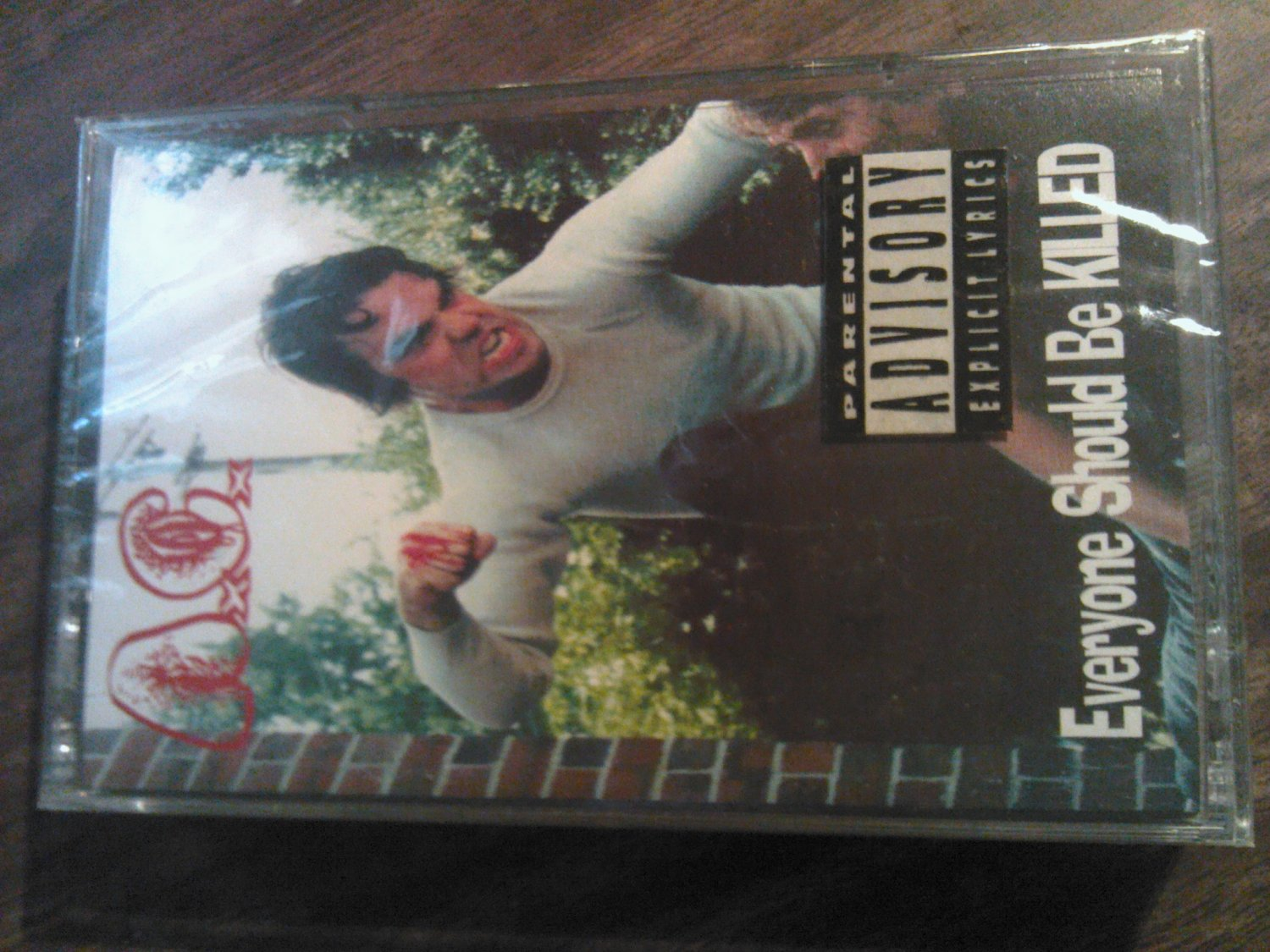 A.C. cassette tape Everyone Should Be Killed ac anal c*nt SEALED