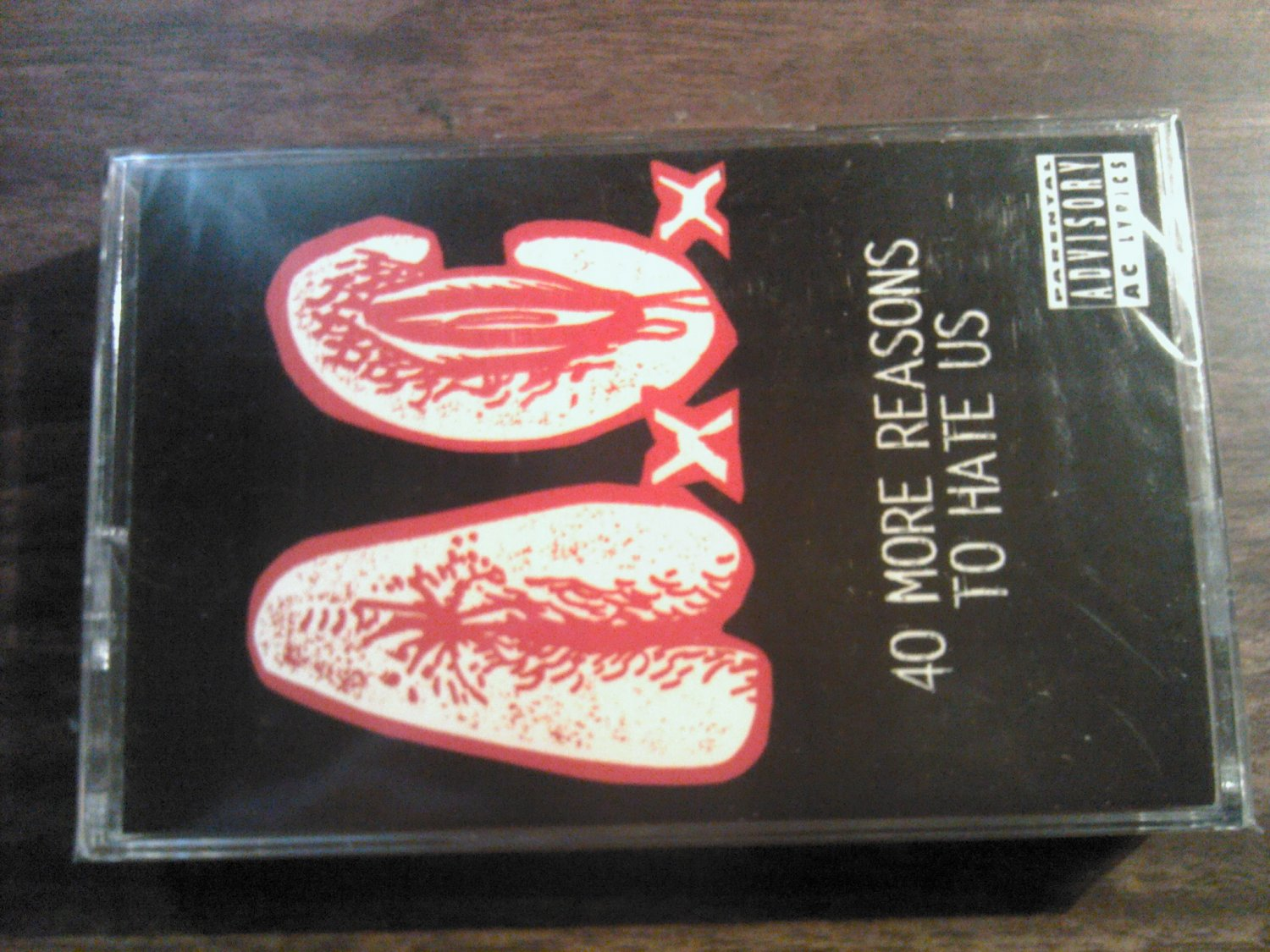 A.C. cassette tape 40 More Reasons To Hate Us ac anal c*nt SEALED