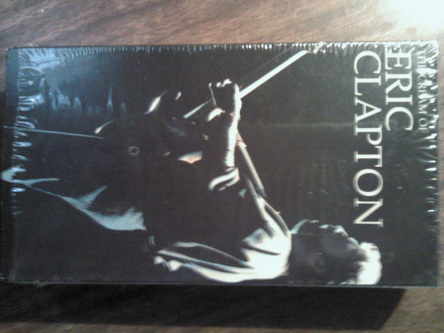 VHS ERIC CLAPTON The Cream Of SALE