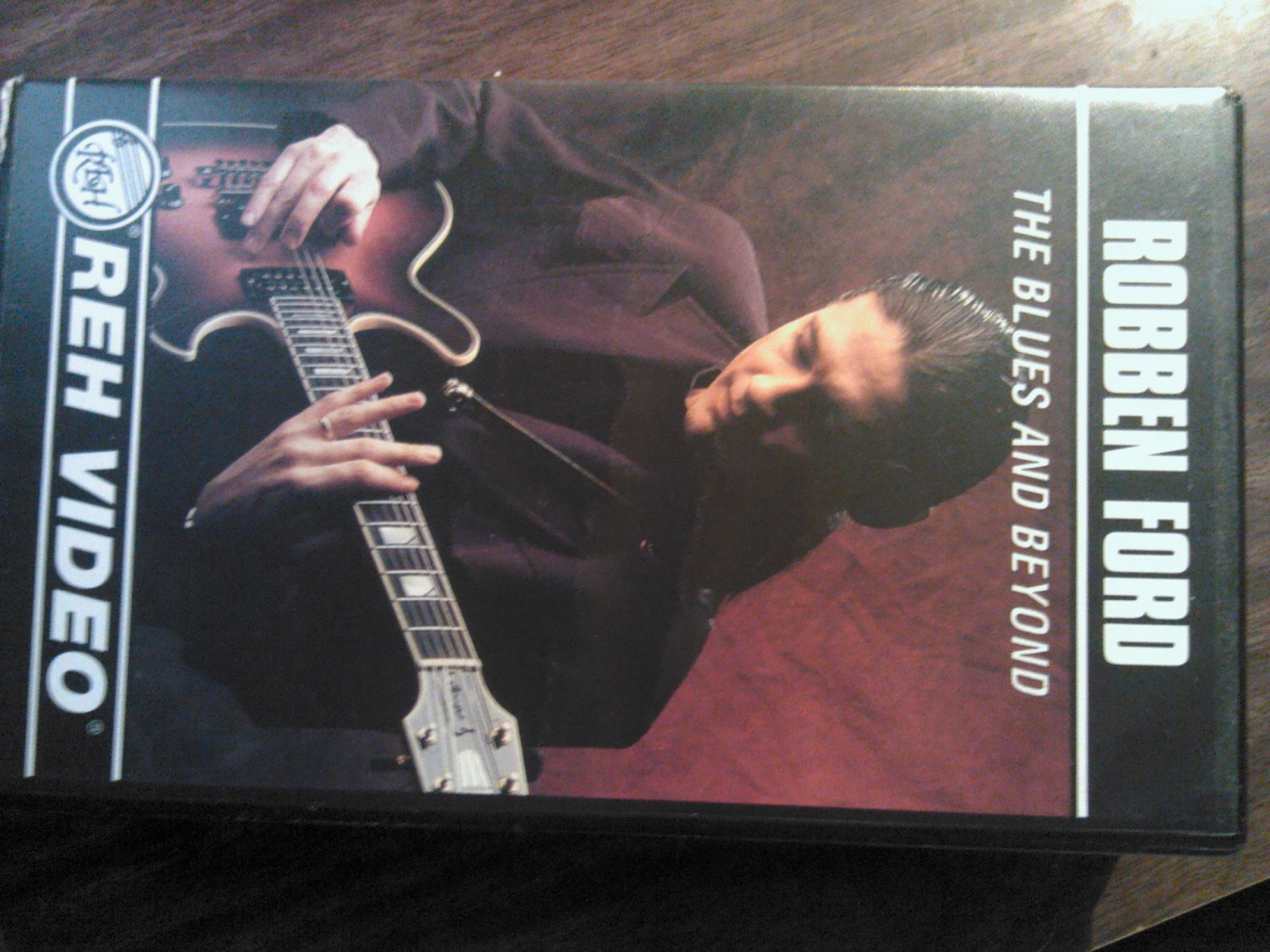 VHS ROBBEN FORD The Blues And Beyond Guitar instructional