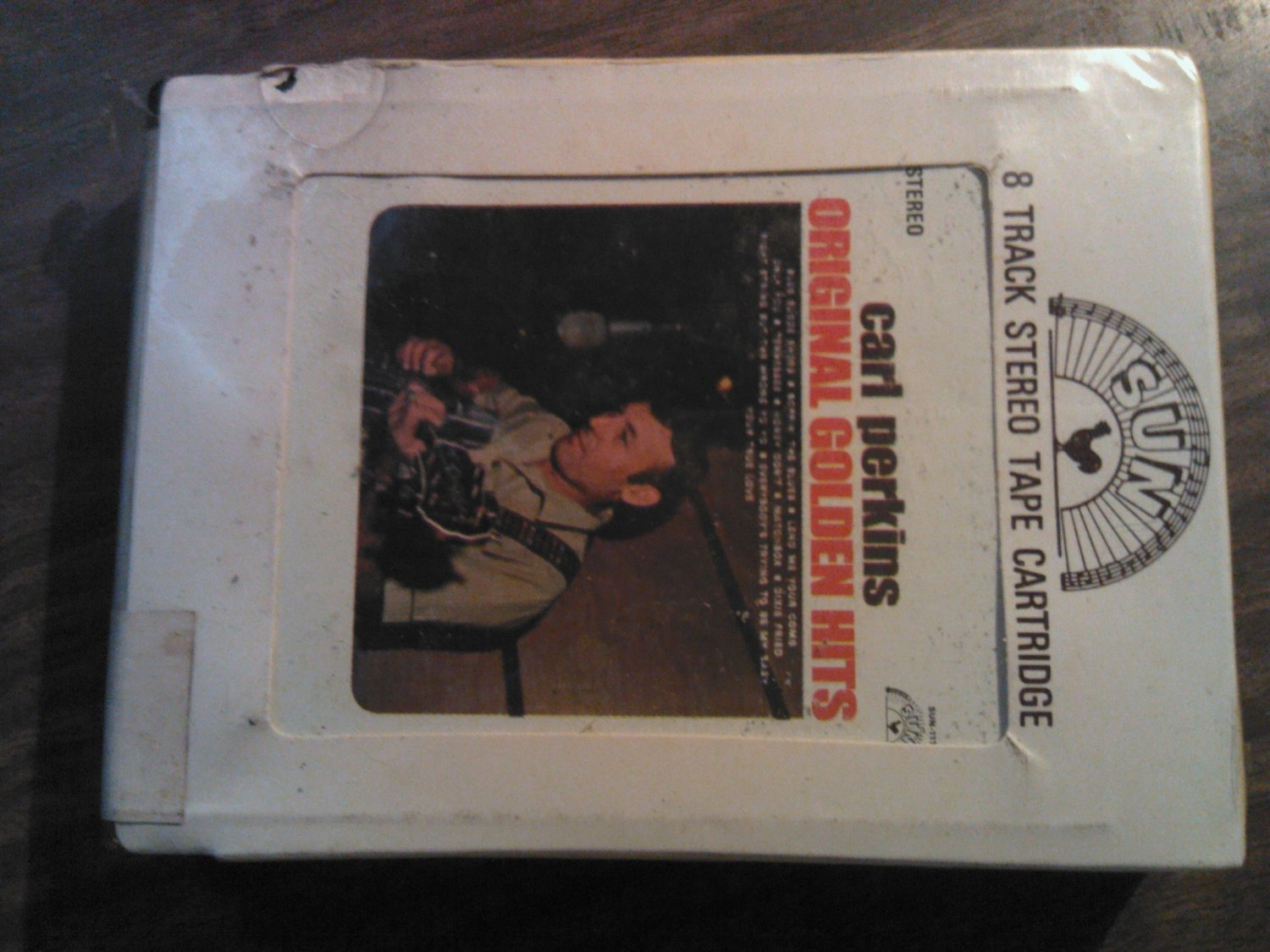 CARL PERKINS 8-TRACK TAPE Original Golden Hits blue suede shoes vintage SEALED