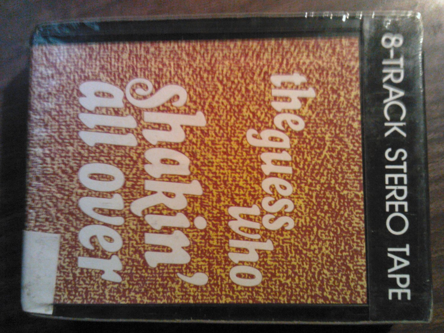 THE GUESS WHO 8-TRACK TAPE Shakin All Over randy bachman vintage SEALED