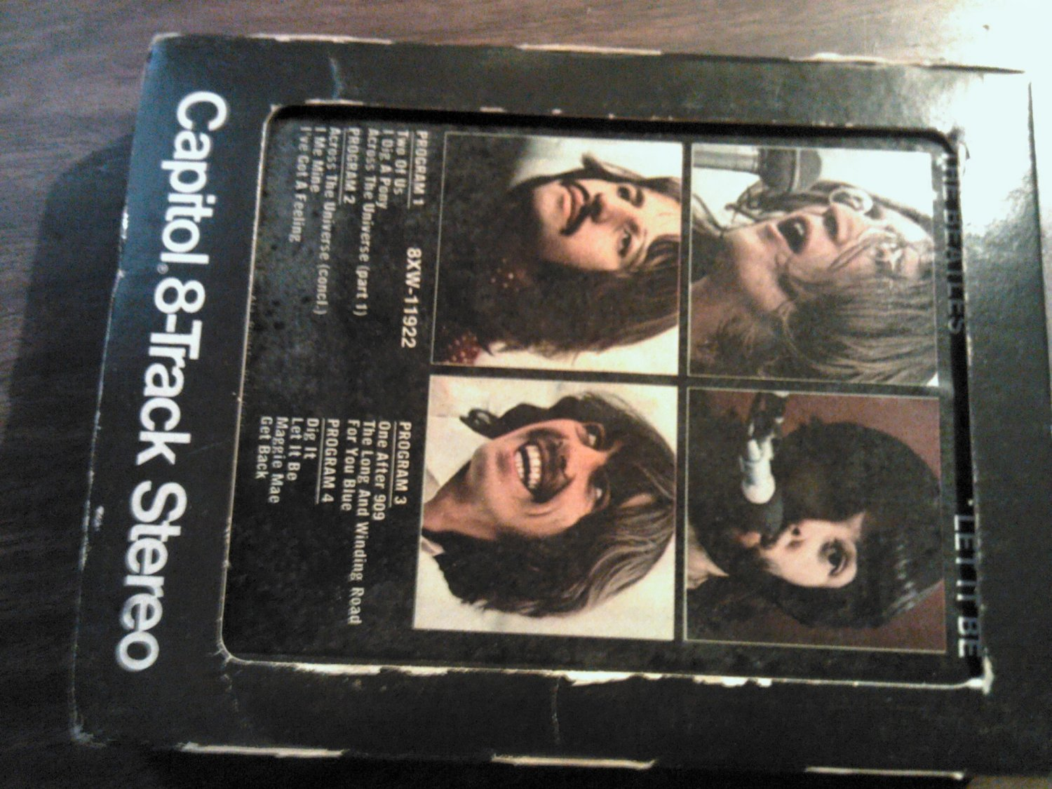 THE BEATLES 8-TRACK TAPE Let It Be VINTAGE