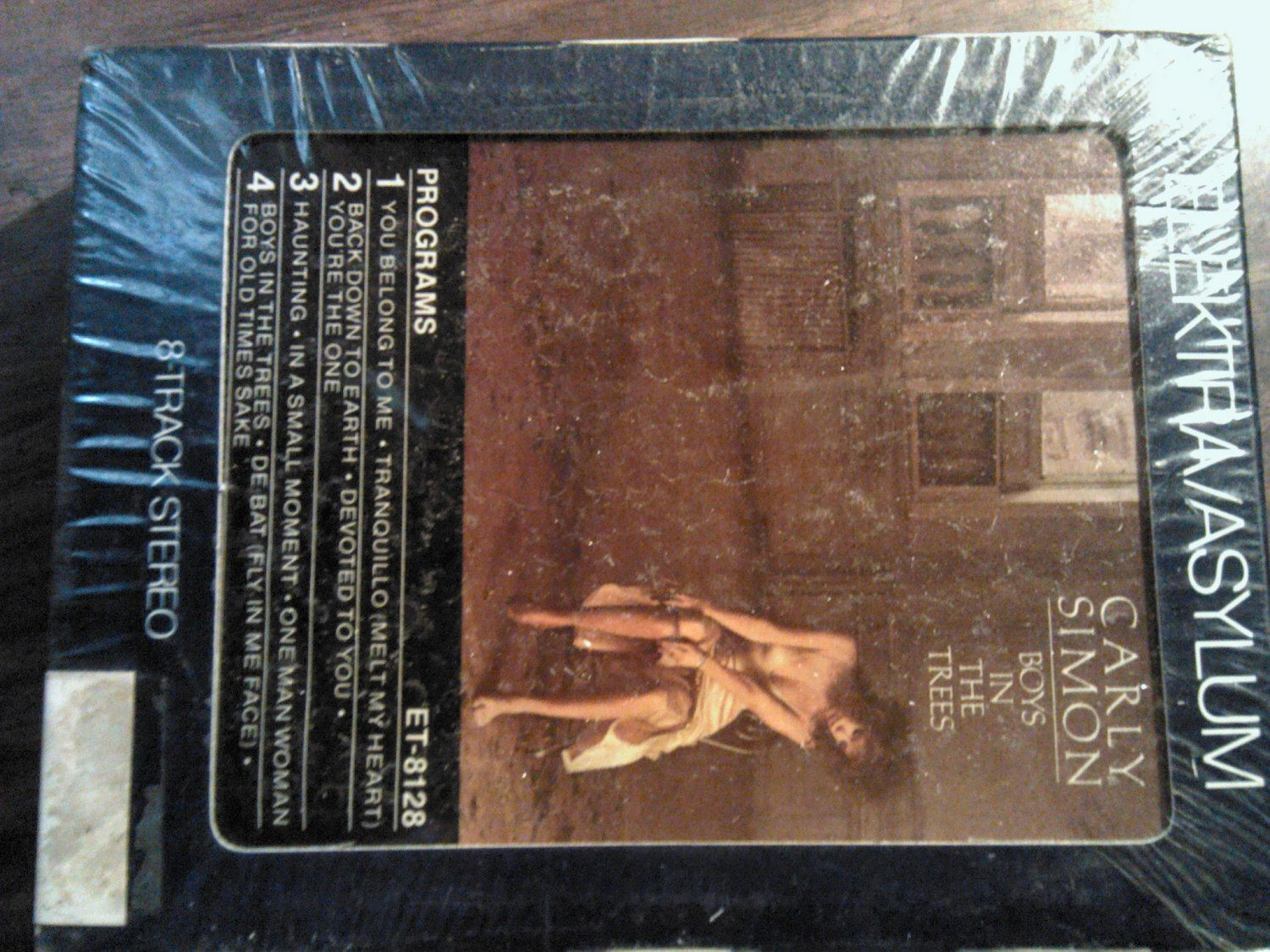 CARLY SIMON 8-TRACK TAPE Boys in the Trees vintage SEALED