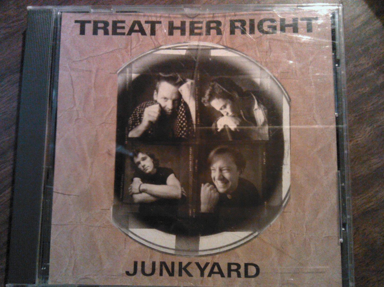 CD TREAT HER RIGHT Junkyard single PROMO SALE