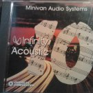 CD v/a infinity acoustic minivan michael bolton rick trevino luther vandross tommy emmanuel PROMO