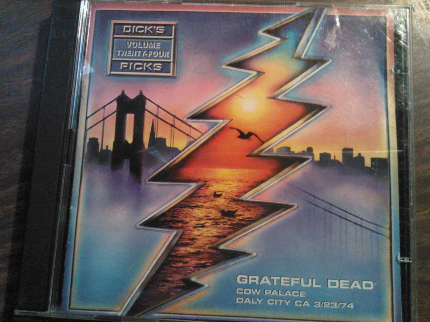 CD GRATEFUL DEAD Dick's Picks Vol 24 cow palace daly city california 3/23/74 live OOP