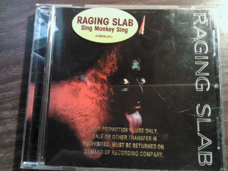CD RAGING SLAB Sing Monkey Sing PROMO