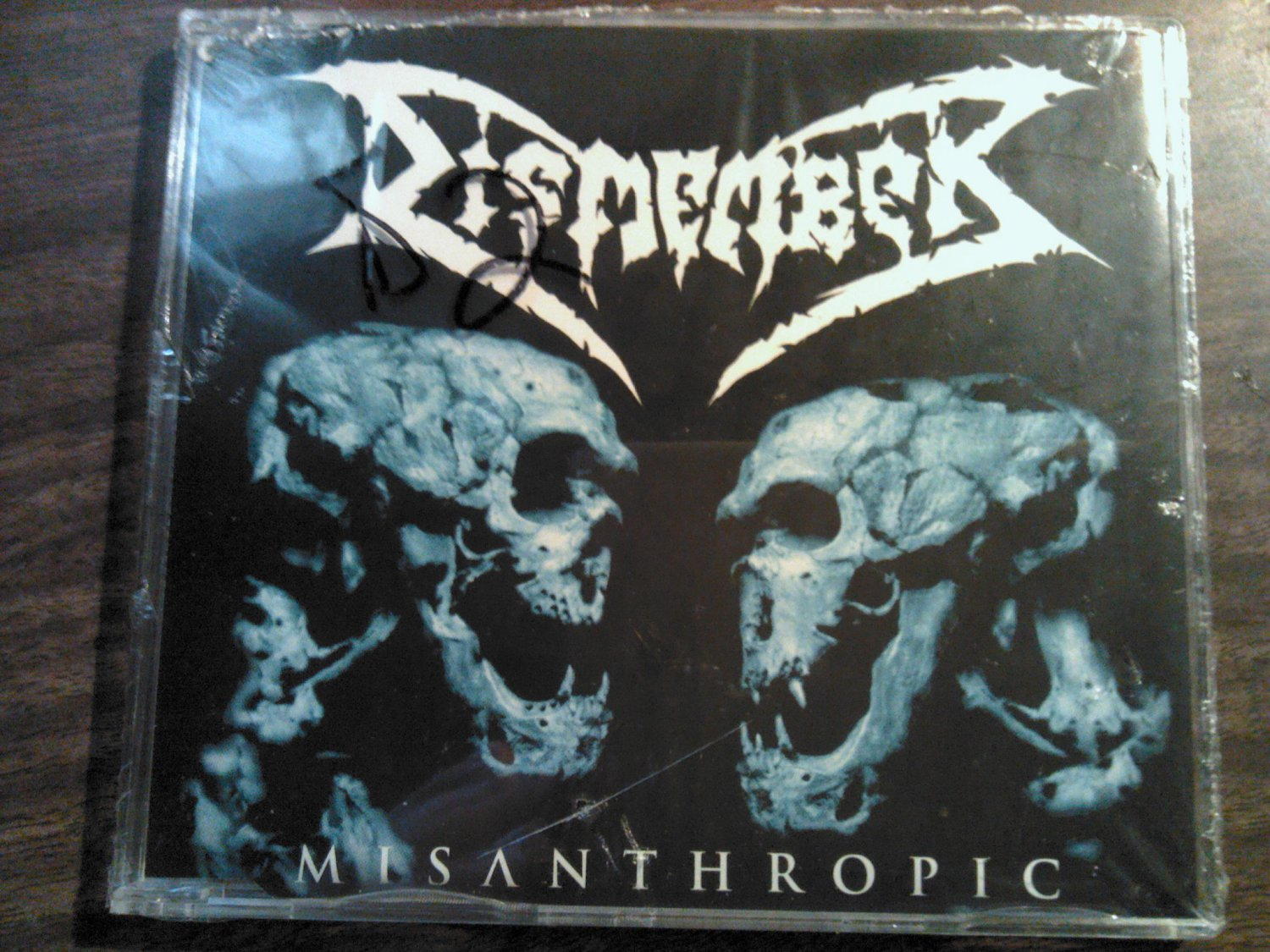 CD DISMEMBER Misanthropic ep metal SEALED