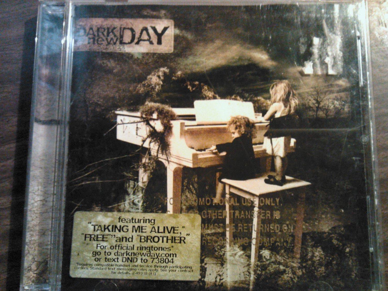 CD DARK NEW DAY Twelve Year Silence PROMO