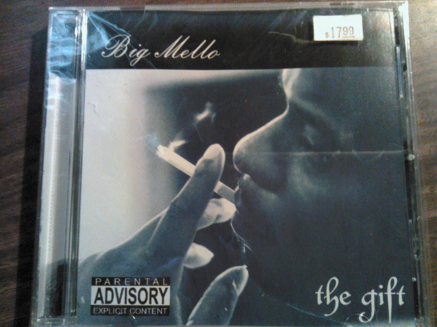 CD BIG MELLO the Gift rap texas SEALED