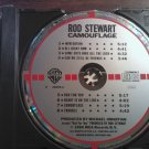 CD ROD STEWART Camouflage jeff beck vintage import TARGET