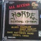 CD-ROM HORDE FESTIVAL blues traveler ziggy marley sheryl crow dave matthews band bonus 2 DISC