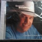 CD GEORGE STRAIT I Just Want To Dance With You country advance single SEALED