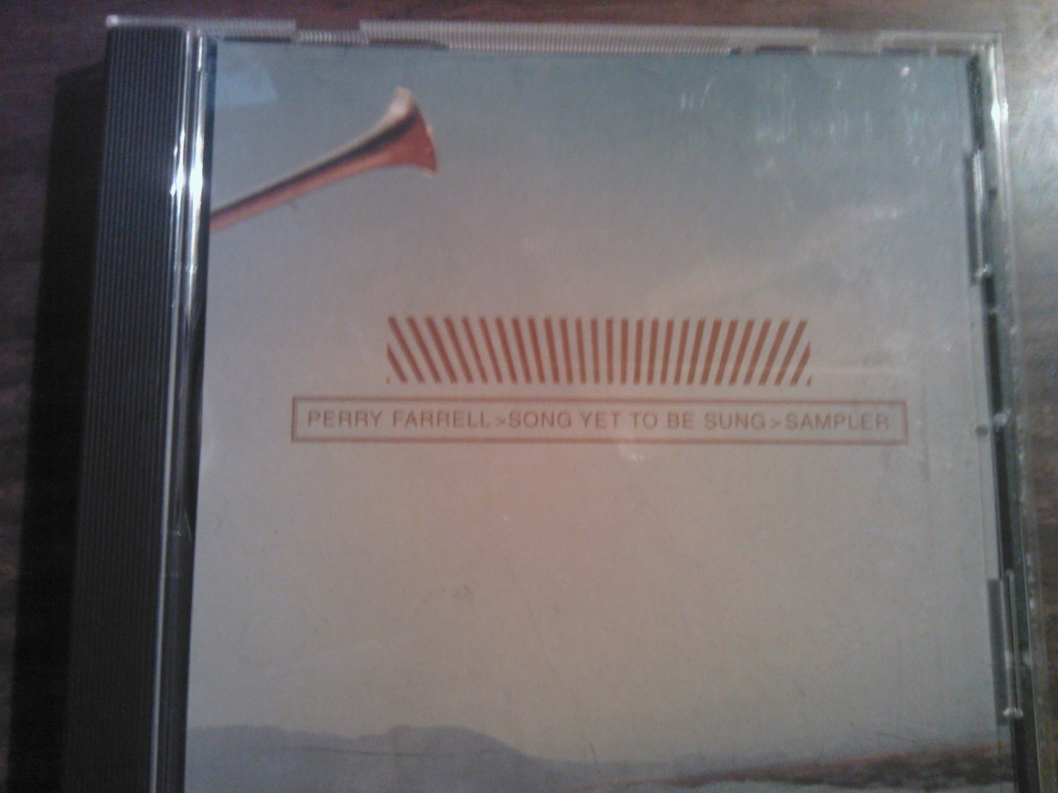 CD PERRY FARRELL Songs Yet To Be Sung sampler jane's addiction PROMO