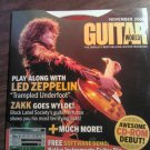 CD-ROM GUITAR WORLD 11/04 led zeppelin phish zakk wilde tab instructional SALE