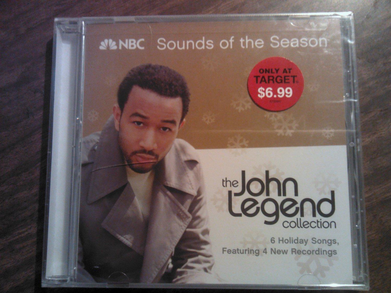 CD JOHN LEGEND Sounds of the Season target holiday SEALED