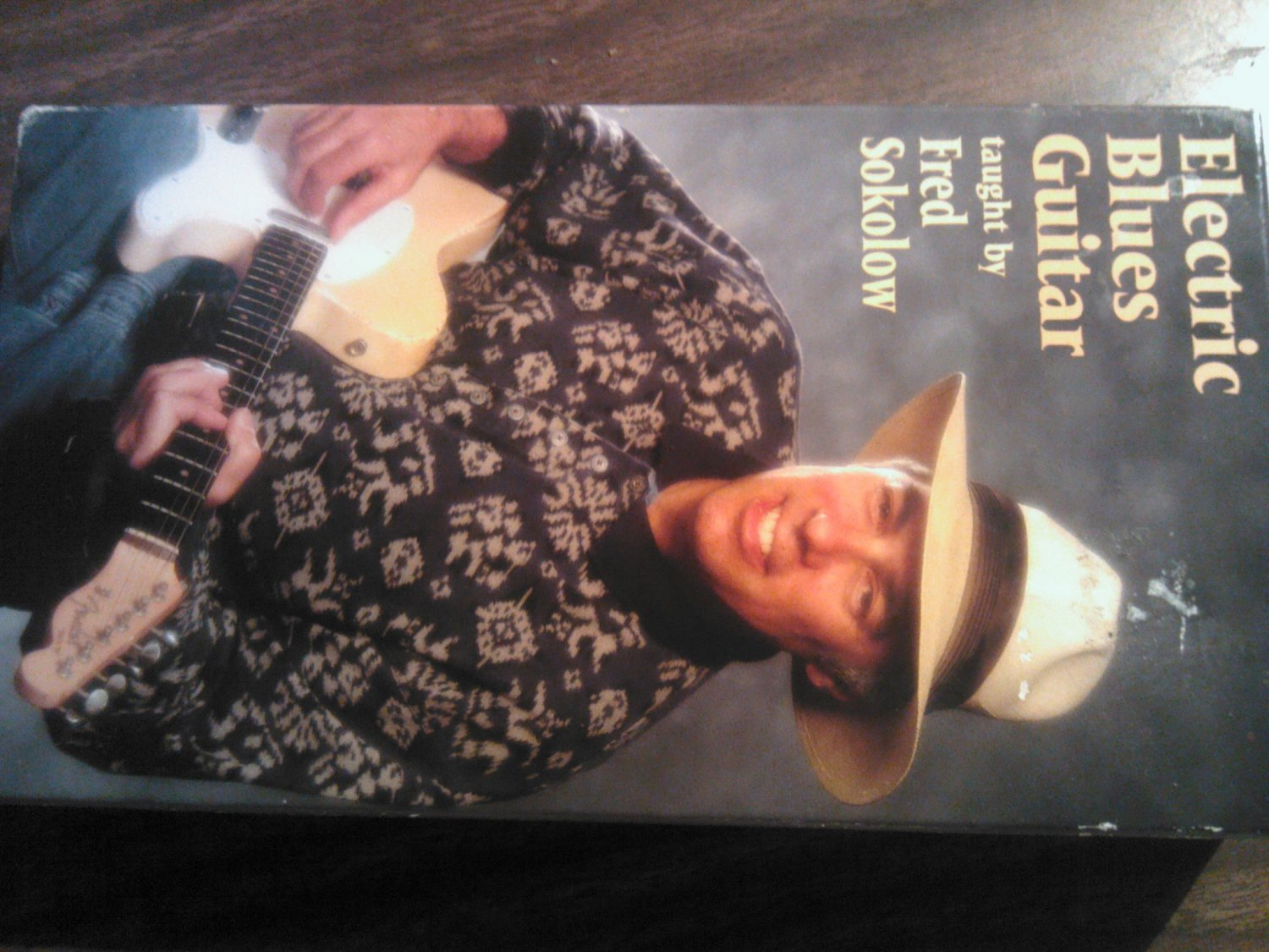 VHS FRED SOKOLOW Electric Blues Guitar instructional