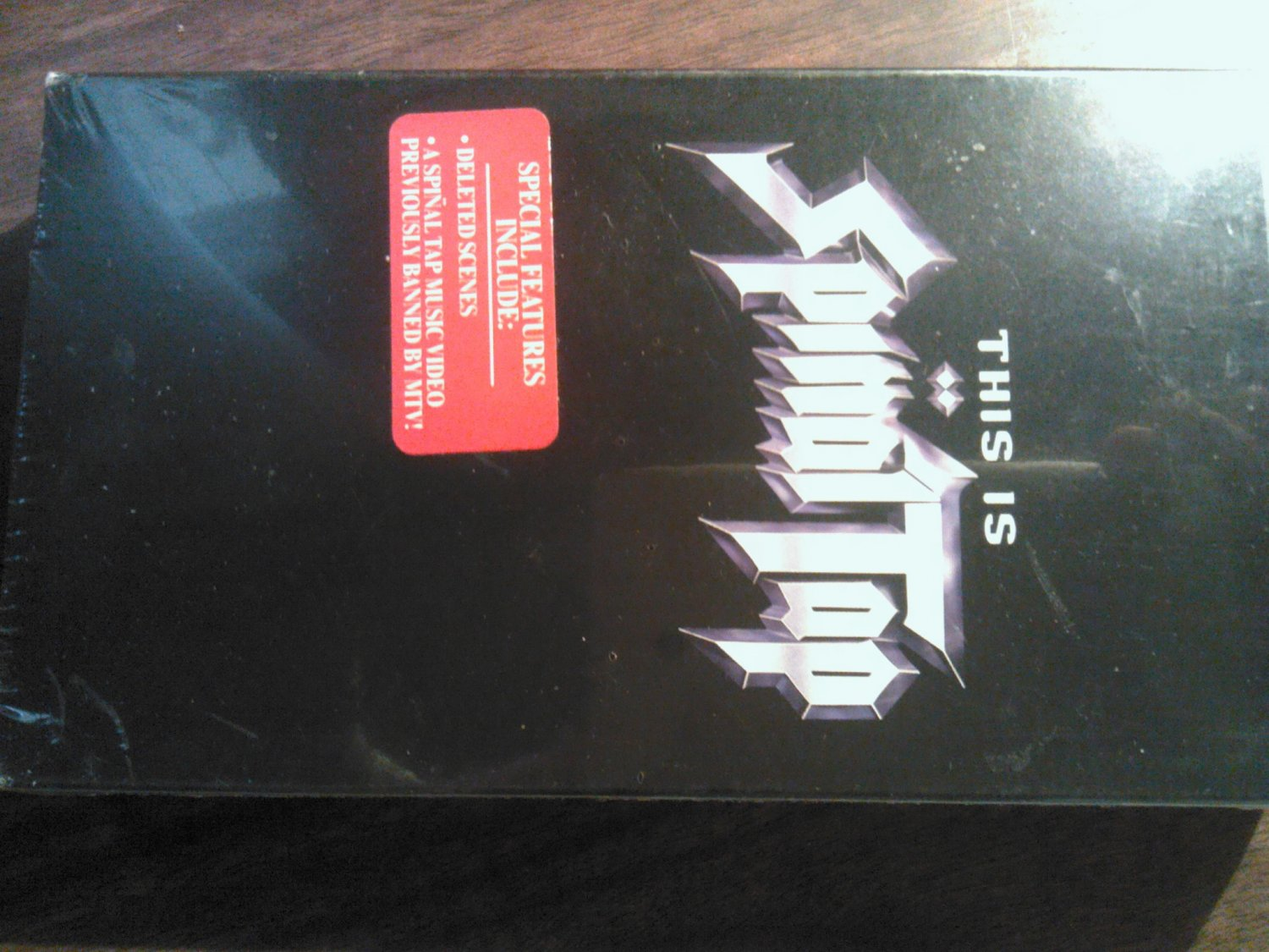 VHS SPINAL TAP ThIs Is movie special features SEALED