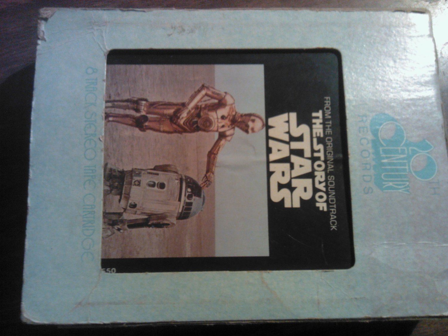 THE STORY OF STAR WARS 8-TRACK TAPE movie soundtrack roscoe lee brown VINTAGE