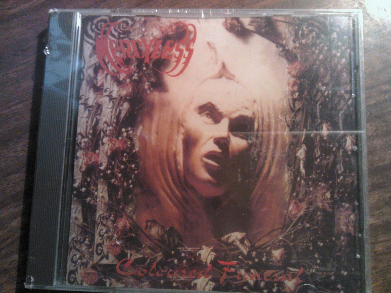 CD MERCYLESS Coloured Funeral metal SALE
