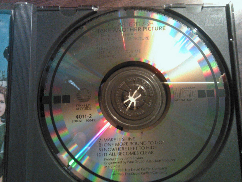 CD QUARTERFLASH Take Another Picture vintage import JAPAN TARGET